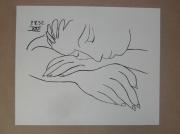 tableau : Picasso - Femme endormie