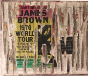 "mixte autres jamesbrown affiche contemporain siporex : Spirit Of Wall  ""James Brown"""