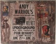 """mixte autres andywarhol velvetunderground contemporain affiche : Spirit Of Wall  """"Andy Warhol's Velvet Underground"""""""