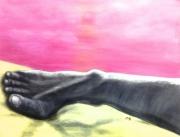 tableau autres pied acrylique papier toile : Forge ton pied