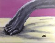 tableau pied acrylique : Diep eerht