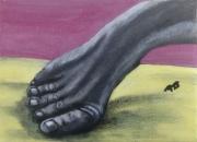 tableau autres pied acrylique : Diep owt