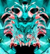 art numerique personnages poseidon abstrait numerique color : POSEIDON