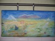 tableau paysages imaginaire mer zen : jardin de mer