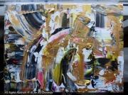 tableau paysages arc en ciel peinture rainbow painting mr rainbow art mri arc en ciel artiste : ARC EN CIEL