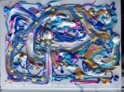 tableau abstrait naare painting mri naare peinture mri naare art work naare artiste mri : NAARE