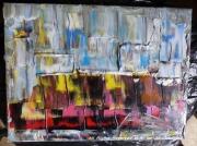 tableau abstrait lights mri peintre lights mri painter lights canvas mri lights artwork mri : LIGHTS