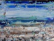 tableau marine bord de mer peinture seaside painting mr seaside acrylic artw bord de mer acrylic : BORD de MER