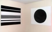 tableau abstrait minimaliste : angles 2