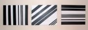 tableau abstrait minimaliste : angles