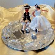 deco design scene de genre mariage : Porte-alliances