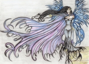 dessin scene de genre : Vers le rêve