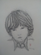dessin personnages enfant triste memoire : Enfant triste