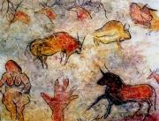 tableau : Souvenir préhistorique