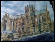 tableau architecture lorraine jaumont metz : La Cathédrale de Metz