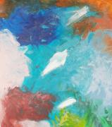 tableau abstrait art abstrait abstract art : COULEURS FOLLES
