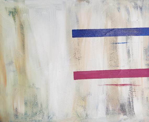 TABLEAU PEINTURE ART ABSTRAIT ABSTRACT ART Scène de genre Acrylique  - LIGNES