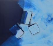 tableau abstrait bleu 7 : Bleu 7
