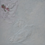 tableau abstrait noit blanc 2 : Noir Blanc 2