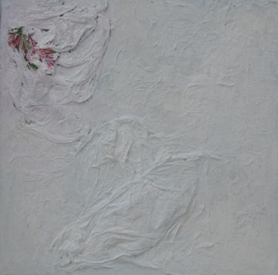 TABLEAU PEINTURE Noit Blanc 2 Abstrait Acrylique  - Noir Blanc 2