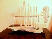 sculpture marine mer arrete poisson : ARRETE SOCLE BOIS