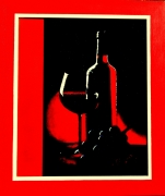 tableau nature morte vin raisin verre rouge : UN BON COUP DE ROUGE