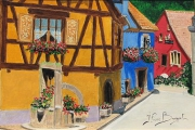 tableau architecture rue alsace : RUE ALSACIENNE