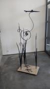 sculpture animaux sculpture oiseau echassier outil : Echassier