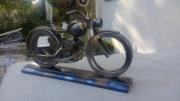 sculpture abstrait moto sport outil harley : Harley cjp