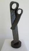 sculpture personnages maternite maman enfant amour : Amour maternel