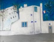 tableau abstrait maison berlioz montmartre : la maison de Berlioz