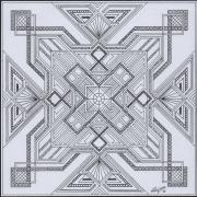 dessin abstrait dessin geometrique abstrait mandala : dessin