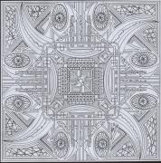 dessin abstrait dessin geometrique abstrait : dessin 2 série c