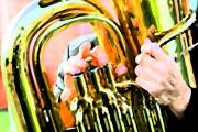 art numerique nature morte musique trombone instruments : Trombone