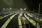 art numerique scene de genre train paris bande dessinee : Train de nuit