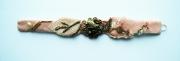 art textile mode abstrait bracelet art textile : BRACELET DSC 2328