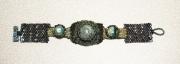 bijoux abstrait bracelet peyote : BRACELET DSC 2346