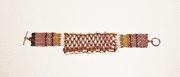 bijoux abstrait bracelet peyote : BRACELET DSC 2350