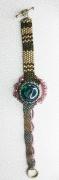 bijoux abstrait bracelet peyote : BRACELET 018