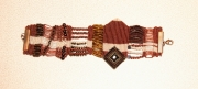 bijoux abstrait bracelet micromacrame : BRACELET DSC 2361