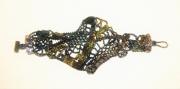 bijoux abstrait bracelet peyote : BRACELET DSC 2348