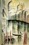 tableau paysages aquarelle paysages : LA SALUTE