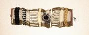 bijoux abstrait bracelet micromacrame : BRACELET DSC 2360