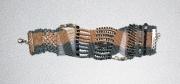 bijoux abstrait bracelet micromacrame : BRACELET DSC 2359