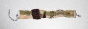 bijoux abstrait bracelet micromacrame : BRACELET DSC 2355