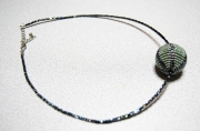 bijoux abstrait collier peyote : COLLIER DSC 2351