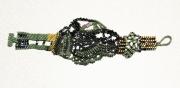 bijoux abstrait bracelet peyote : BRACELET DSC 2343