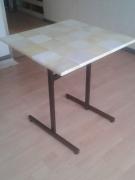 deco design autres bistrot table parchemin design : table bistrot