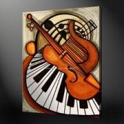 autres abstrait a32 : pianoleur