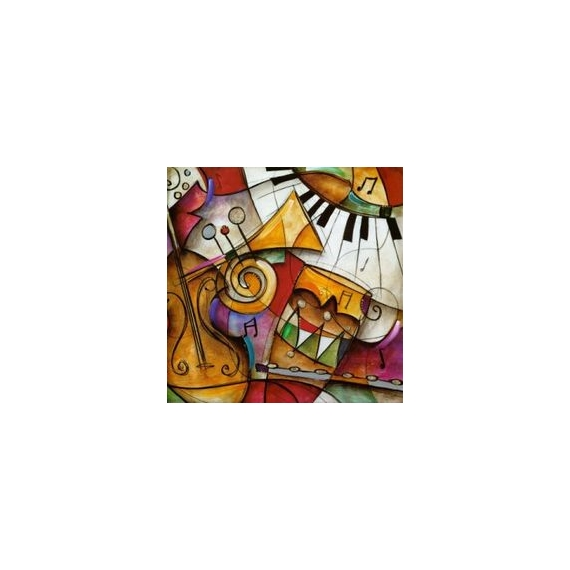 TABLEAU PEINTURE a25 Aquarelle  - multimusic